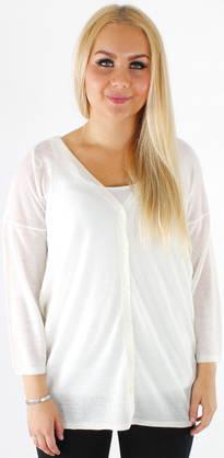 bdf8aa1d6dfd Jacqueline De Yong Cardigan Rose 3 4 - Knitwear - 116480 - 1