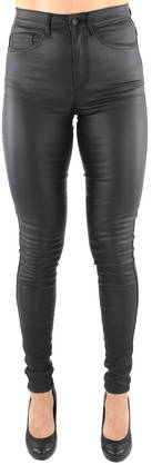 Only Pants Royal hw rock coated, Black - Trousers - 121690 - 1