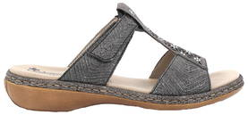 Rieker Mules 65950-90, Silver - Mules and clogs - 120910 - 1