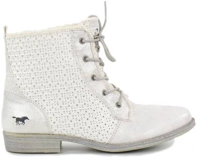 Mustang Ankle Boots 1157-558-100, White