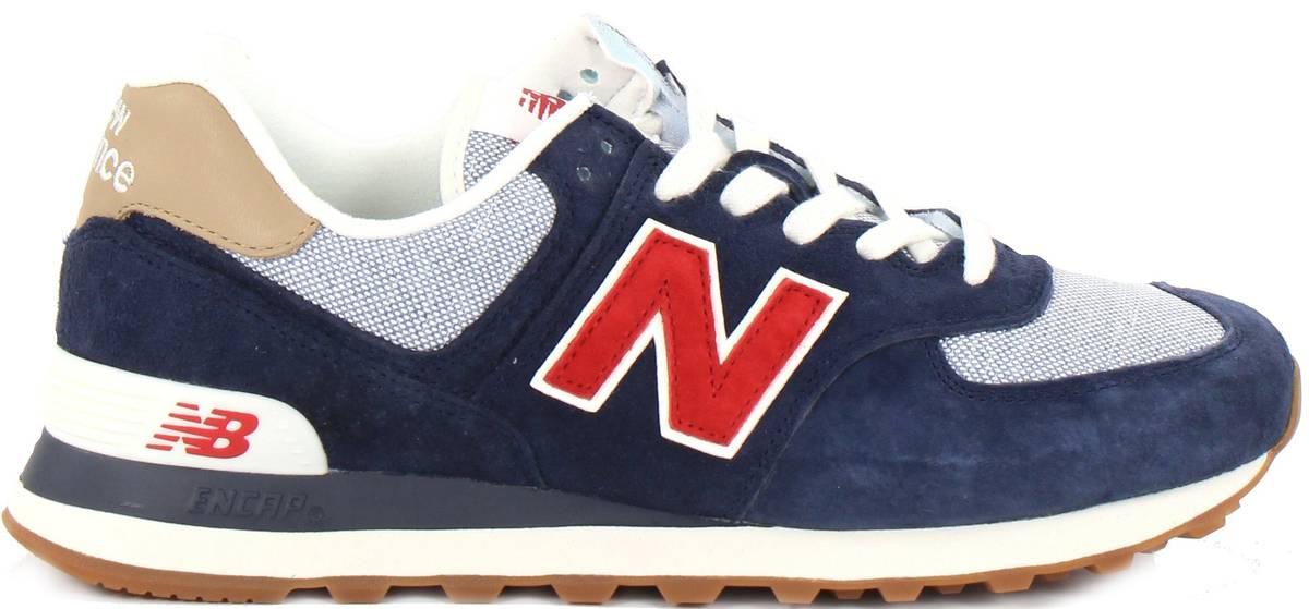 check out c1aff 98a9c New Balance Sneakers ML574 PTR, Blue - Stilettoshop.eu webstore