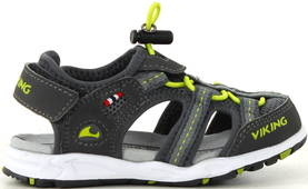 Viking Sandals Thrill charcoal/lime - Sandals - 116201 - 1