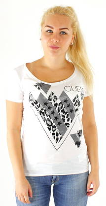 Guess T-shirt W62I28JA900 white - T-Shirts - 116601 - 1