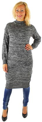 Noisy May Knitted Dress Crow long black - Knitwear - 116691 - 1