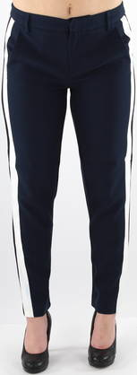Only Trousers Victoria Reg Ankle, Dark Blue - Trousers - 119681 - 1