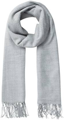 Pieces Scarf Kial, Light Gray - Scarves - 122051 - 1