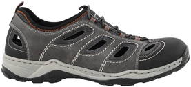 Rieker Shoes 08065-02 grey - Walking shoes - 120351 - 1