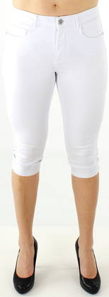 Only Knickers Royal reg. Skinny White - Shorts and Capri pants - 114132 - 1