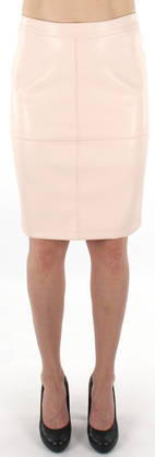 Vila Skirt Pen new peach blush - Skirts - 120382 - 1