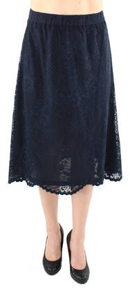 Vila Skirt Loras Flared lace - Skirts - 118862 - 1