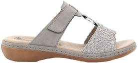 Rieker Mules 65943-42, Gray - Mules and clogs - 120912 - 1