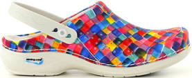 Nursing Care Machine washable clogs WG3APF7 colourful - Work shoes - 114093 - 1