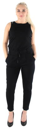 Only Jumpsuit Poptrash Easy Classic, Black - Trousers - 119353 - 1