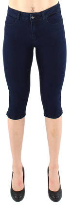 Vero Moda Capris Hot Seven, Dark Blue - Shorts and Capri pants - 120873 - 1