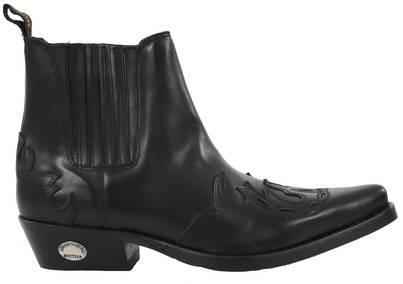 låga boots herr
