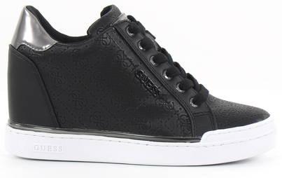 Guess Wedge Sneakers FL5FWUFAL12, Black