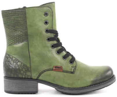 cheap for sale new specials reasonably priced Rieker Ankle Boots Y9718-52, Green - Stilettoshop.eu webstore
