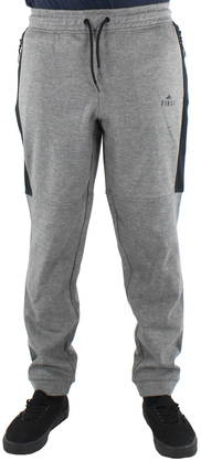 First Pants Jack scuba, Gray - Trousers - 122984 - 1