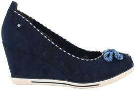Marco Tozzi Wedge pumps 29305-26 navy - Pumps and high heels - 117954 - 1