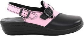 Promena Professional shoes 8011 black/pink - Work shoes - 119634 - 1