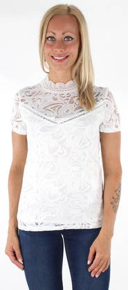 Vila T-shirt Stacia lace - T-Shirts - 121554 - 1