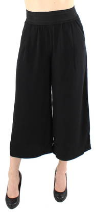 Only Culottes Alex wide cropped black - Trousers - 118774 - 1