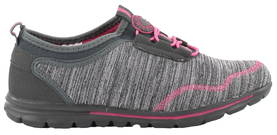 Migant Sneakers A923-91, Grey/Fuchsia - Sneakers - 120664 - 1