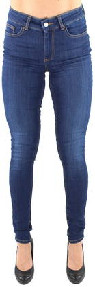 Pieces Jeans Five delly, Dark Blue - Jeans - 121884 - 1