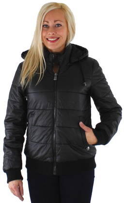Only Winter jacket King pu jacket black - Leather jackets - 112985 - 1