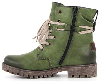 Rieker Ankle Boots 78530-52, Green