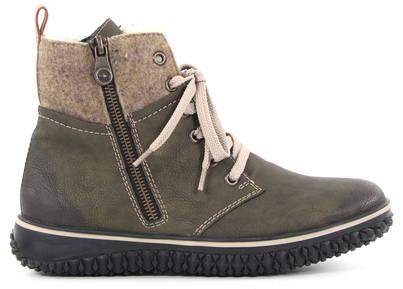 huge discount great prices exquisite design Rieker Ankle Boots Z4234-54, Green - Stilettoshop.eu webstore