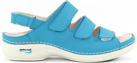 Nursing Care Machine washable sandals WG1819 turquoise - Work shoes - 120296 - 1