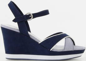 Marco Tozzi Wedges 28352-26 navy - Sandals - 115546 - 1