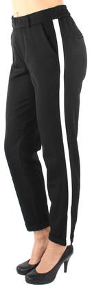 Vero Moda Pants Maya mr loose panel, Black - Trousers - 121956 - 1