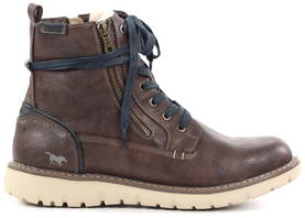 Mustang Sneakers 4107-605-32, Brown - Sneakers - 122306 - 1