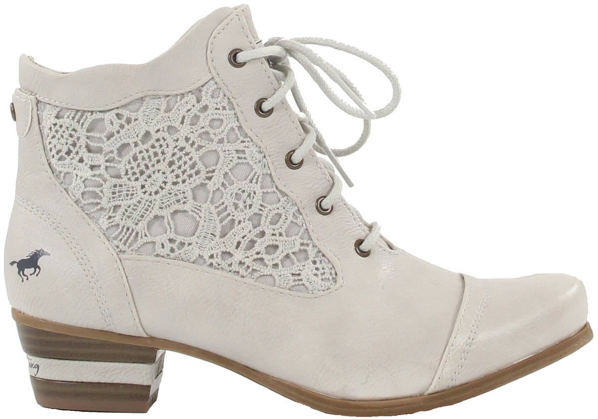 c5a1742574a09a Mustang Ankle Boots 1187-501-203 ice - Stilettoshop.eu webstore
