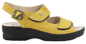 Golden Fit Professional sandals 696 giallo suede - Sandals - 119137 - 1