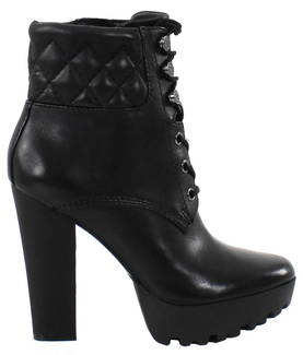 Guess Booties FLCLR4LEA10 black - Ankle boots - 117427 - 1