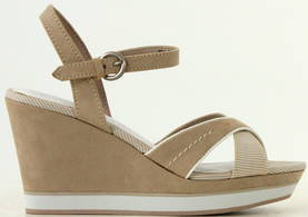 Marco Tozzi Wedges 28352-26 beige - Sandals - 115717 - 1
