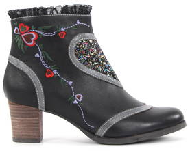 Laura Vita Ankle Boots Amelia 17, Black - Ankle boots - 121967 - 1