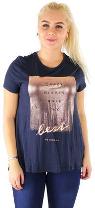 Only T-shirt Viscose A-shape - T-Shirts - 117167 - 1