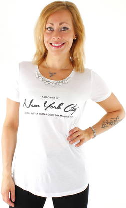 Only T-shirt Filuka necklace - T-Shirts - 116397 - 4