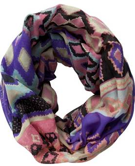 Pieces Circle Scarf Jismo Long - Scarves - 113467 - 1