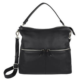 The Monte Leather Bag 59037, Black - Handbags - 123387 - 1
