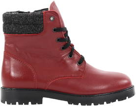 Topman Ankle Boots 40430, Red - Ankle boots - 120157 - 1