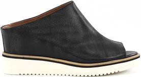 Black Tamaris 27200-20 ergonomically shaped, open tip wedge heel mules. -  Mules c60c84348b