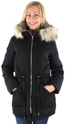 Vila Down Jacket Stormy, Black - Down jackets - 122107 - 1