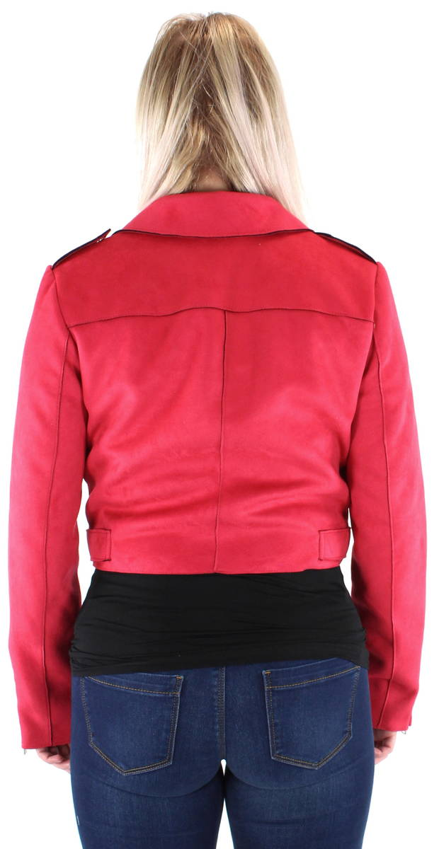 Only Biker Jacket Sherry cropped - Light jackets - 120788 - 2 1e3be46bce