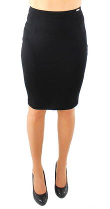 Guess Skirt W63D10K3PG0 black - Skirts - 117248 - 1
