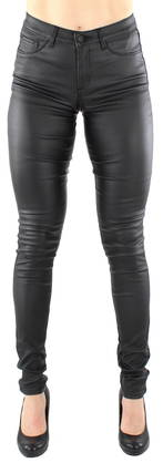 Pieces Leggings Just wear coated, Black - Leggings - 116668 - 1
